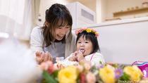 1歳の誕生日ケーキレシピ。食パンやヨーグルトを使った手作りお祝いケーキ