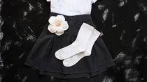 卒園式で女の子が履く靴下。服装にあわせた色など選ぶポイント