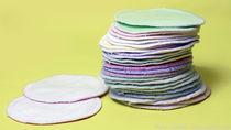 手作りの母乳パッド。手縫いで簡単にできるアイディアについて