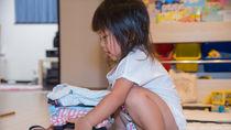 幼稚園の身支度用の収納を用意するとき。スペース作りで意識したこと