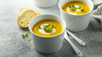 幼児食用の野菜スープのアレンジレシピ。冷凍ストックの方法など