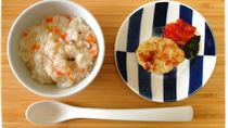 1歳(離乳食完了期)の子どもの献立例と食事量・味つけ