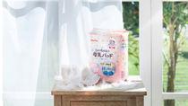業界初となる弱酸性コーティングの母乳パッドが先行発売中