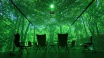 銀座アートホールに「デジタル森林浴®️」空間が期間限定オープン