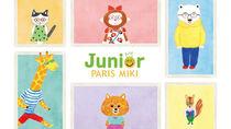 子どものための新メガネブランド「PARIS MIKI Junior」がデビュー