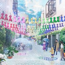 星野リゾート リゾナーレ八ヶ岳がふれふれ坊主と雨を歓迎するイベントを開催