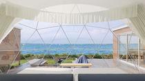 淡路島に全棟客室温泉付オーシャンビューのグランピング施設がオープン