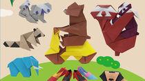 動物や乗り物など、切らずに1枚で作る折り紙が大集合の書籍が刊行