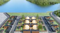 大崎下島に広島県呉市初のドーム型グランピング施設がオープン
