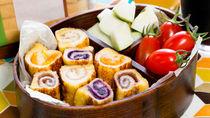 幼稚園用のサンドイッチのお弁当。くるくるサンドや具材などアレンジ方法