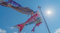 折り紙で立体的や切り絵の鯉のぼりを作ろう。華やかに彩る風車など簡単にできる作り方