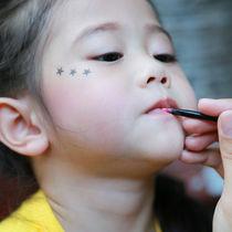 よさこいなどお祭りの子どもメイク。お化粧方法や準備しておくもの