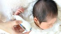 新生児用の体温計は必要?おすすめの体温計やおでこ、耳、脇など部位別の測り方