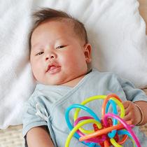 【体験談】生後3カ月の赤ちゃんの遊び方。おもちゃや歌を使ったふれあい遊びや遊び場