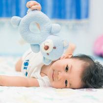 生後7ヶ月の赤ちゃんの遊び。遊び場や外遊び、家での室内遊びとおもちゃ