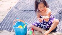 子ども連れの海水浴グッズ。おもしろグッズやテントなどのおすすめ便利アイテム