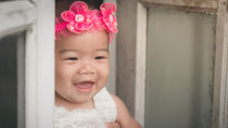 生後9ヶ月の赤ちゃんと結婚式に。服装や食事、預けるかどうかなどについて