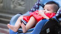 生後7カ月の赤ちゃんと毎日は外出しない?離乳食のタイミングや外出時間について