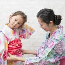 子ども用浴衣セット。大きめ浴衣のサイズ直しやサイズ調整、レンタルについて
