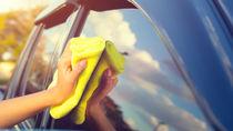 車内や車窓ガラスの掃除について。フロントガラスの水垢を落とす方法など