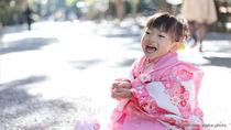 3歳の女の子の七五三の着付け。出張着付けの料金や自宅でできる着付け方