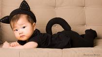 新生児や赤ちゃんに着ぐるみを着せよう。季節ごとに選んだ着ぐるみの種類や選び方