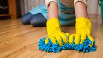 お漏らしや嘔吐でフローリングが汚れたときの掃除方法。掃除に使う道具や手順について