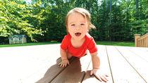 【体験談】赤ちゃんがハイハイする時期や期間。ハイハイするための工夫など