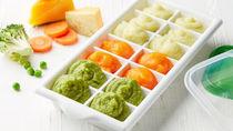 離乳食の作り置きについて。初期のレシピや冷凍や冷蔵に使った容器とは