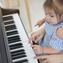 3歳の子どものピアノレッスン。レッスン内容や家での練習など