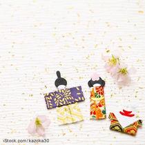 ひな祭りの壁面飾りを手作りしよう。折り紙などを使った作り方など