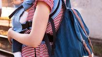 抱っこ紐にあわせたバッグ選び。斜めがけやパパも使いやすいタイプ