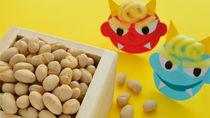 子どもと節分の工作を楽しもう。鬼のお面や折り紙の豆入れの作り方