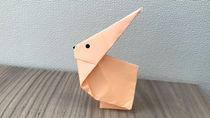 子どもと簡単にかわいい折り紙「うさぎ」を作ってみよう!