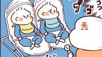 【ふたご育児】第17話 双子の離乳食どうあげる?
