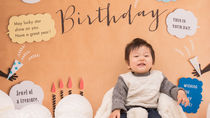 1歳のバースデーを写真に残そう。衣装やバルーンでイベントを楽しむ方法
