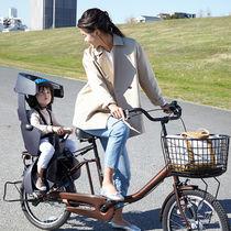 子乗せ自転車の「ヒヤッ」とを減らしたい! 子どもの大切な「頭」を側面まで守る新自転車用チャイルドシート「GRANDIA(グランディア)」