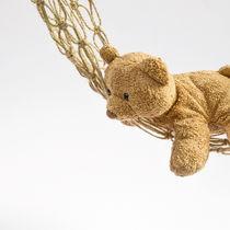 ぬいぐるみの収納にハンモックを使おう。簡単にできる編み方や作り方