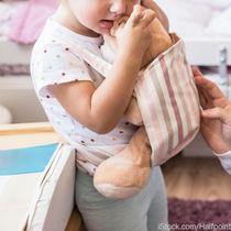 ごっこ遊びに使える抱っこ紐。あわせてほしい、おもちゃなど