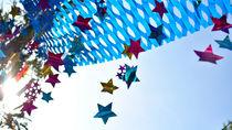 七夕に幼児と楽しむ簡単工作。折り紙を使った七夕飾りや流れ星など