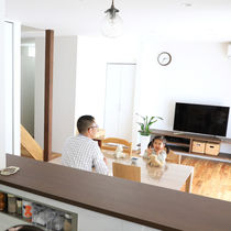 【建築家と叶える理想のマイホーム】家族の笑顔が「メグルイエ」