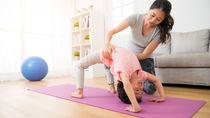 親子で体操をしてみよう。乳児や幼児と楽しむ体操の種類ややり方