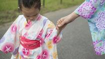 3歳の女の子や男の子の浴衣を選ぼう。セパレート浴衣や甚平など