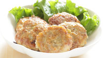 【離乳食後期】ふわふわ豆腐ハンバーグの簡単な作り方やポイント