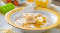 【離乳食初期】オートミールの離乳食レシピ。量やレンジでの調理方法について