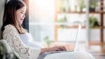妊娠中の在宅ワーク。仕事内容や1日のスケジュール、いつまで働いたかを調査