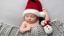 クリスマスの寝相アートを作るときのコツや便利な100均グッズ