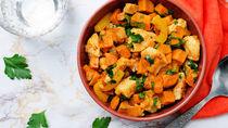 鶏肉とさつまいもを使った離乳食を作るとき。作り方のコツやアレンジレシピ