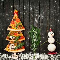 クリスマスに作りたいピザレシピ。親子でアレンジを楽しもう!
