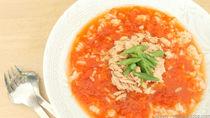 離乳食に作るまぐろとトマトを使った簡単時期別レシピ